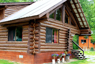 Mangy Moose Cabin
